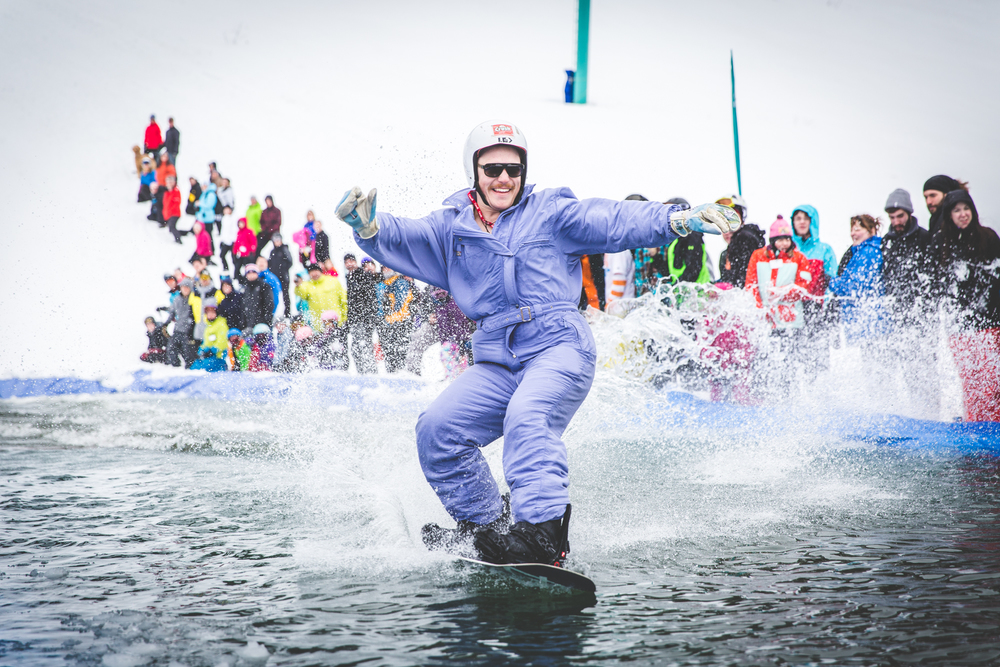 Liam at the Slush Cup