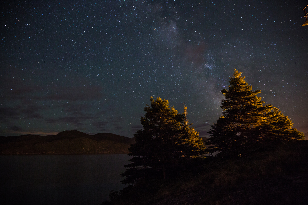 Bonne Bay under Milky Way