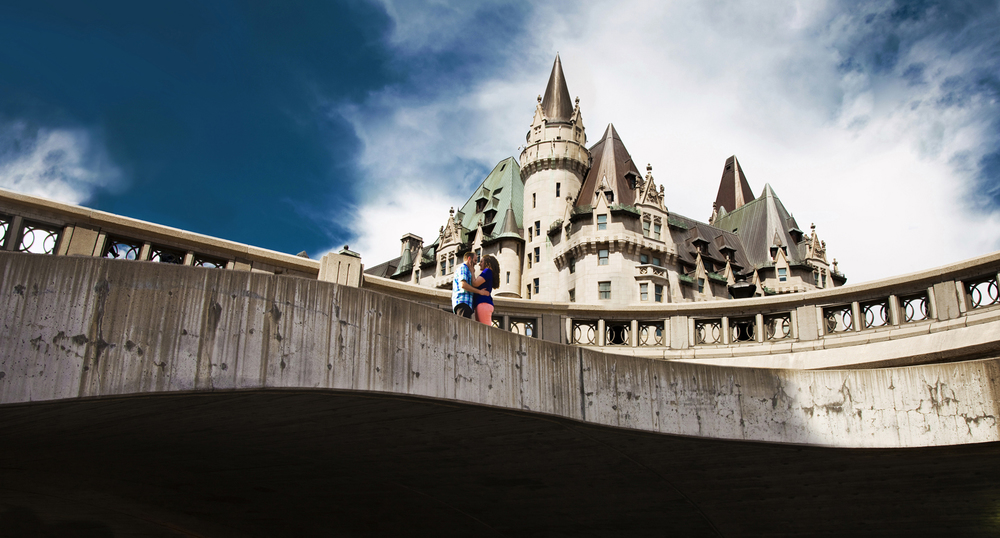 Ottawa Engagement Chateau Laurier Downtown Joey Rudd Photography Review Best Ottawa Photographer