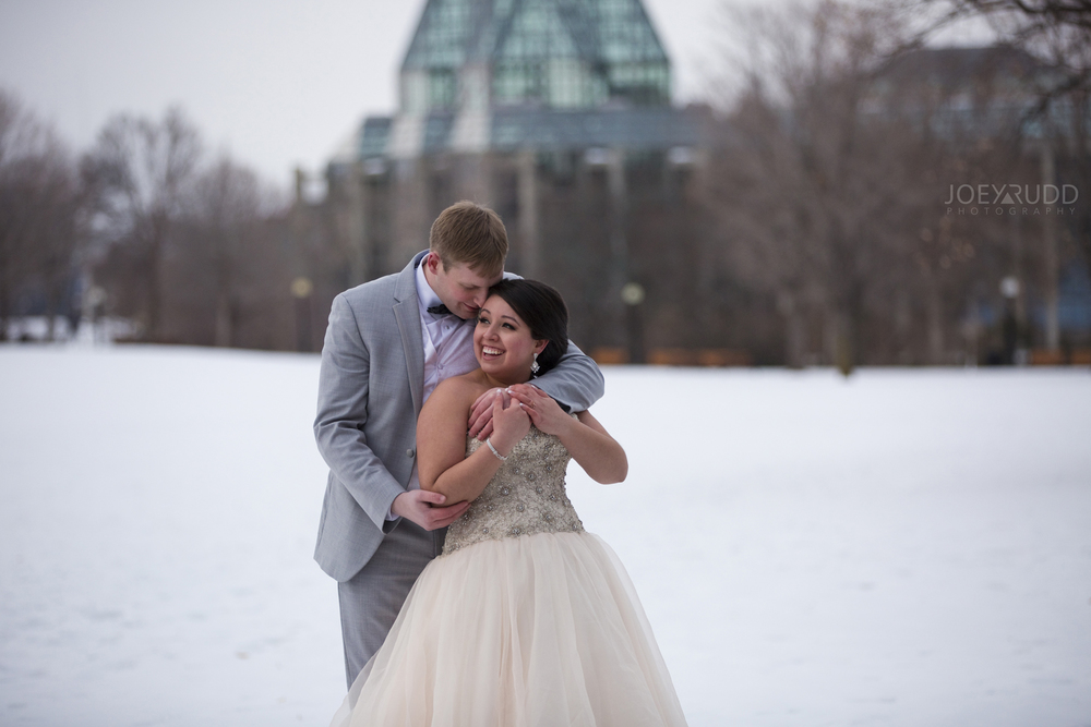 Ottawa Winter Wedding at the NAC by Joey Rudd Photography