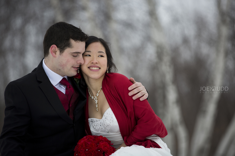 Ottawa Photographer WInter Wedding