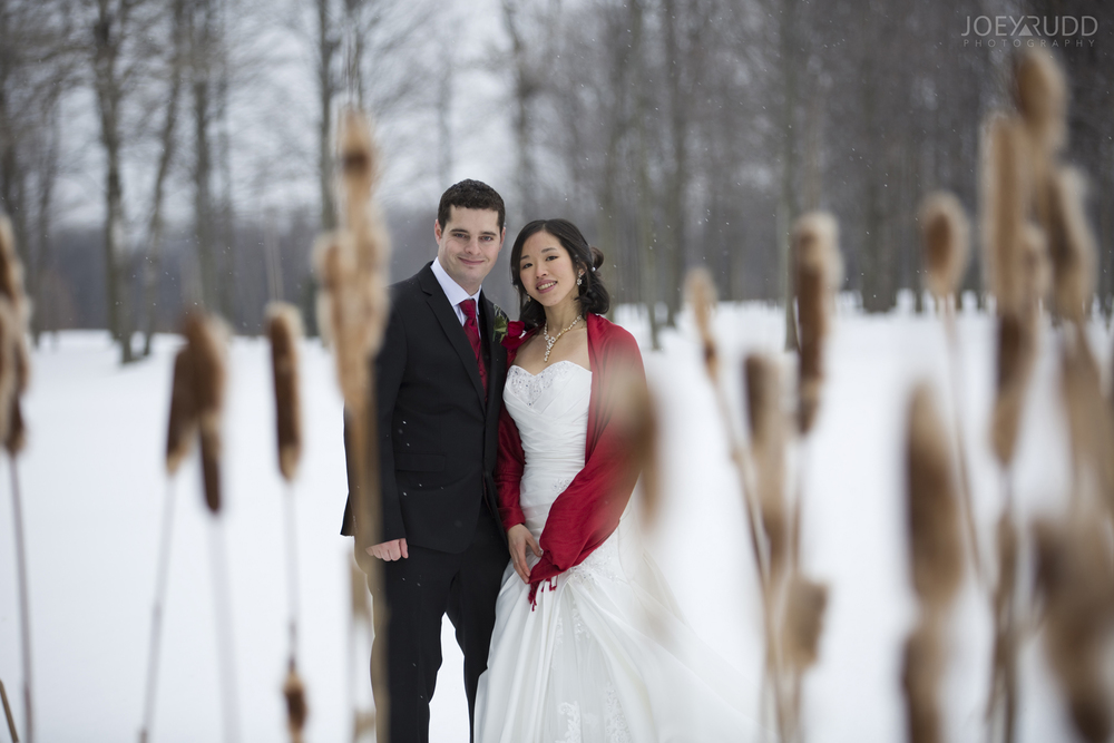 Ottawa Winter Wedding Photographer Couple