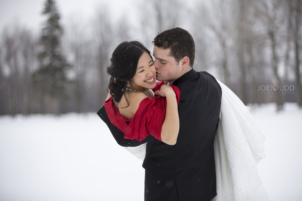 Photographer Winter Ottawa Wedding
