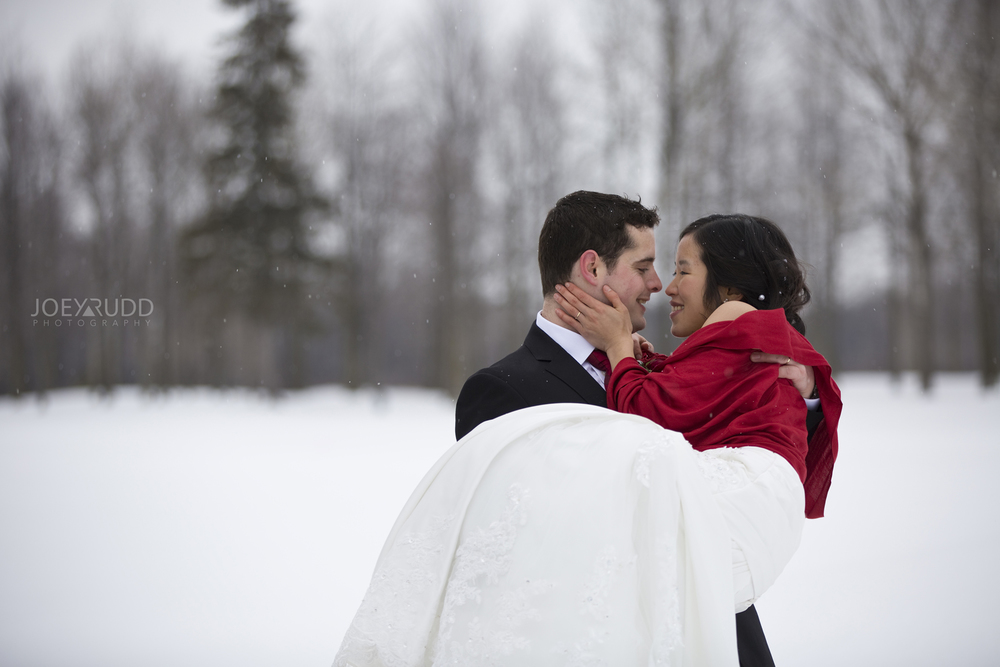 Photographer Wedding Ottawa Winter