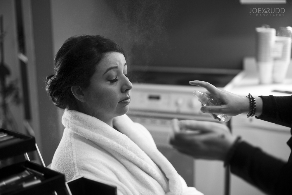 Makeup Winter Wedding Ottawa