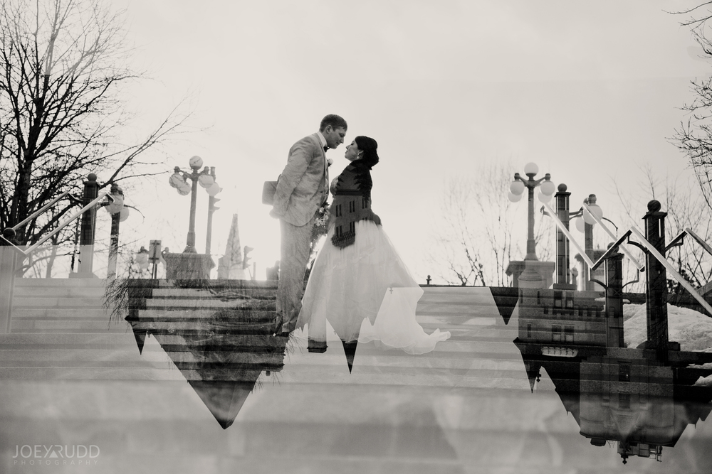 Double Exposure Photo Ottawa Wedding Photographer