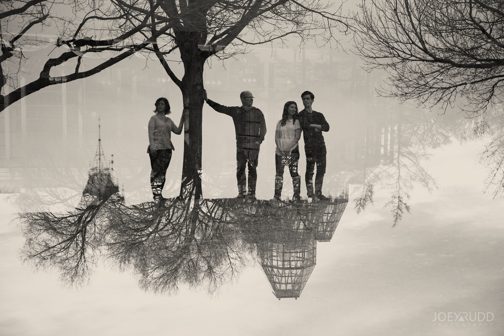 Ottawa Family Photographer Joey Rudd Photography Major's Hill Park Double Exposure Multiple
