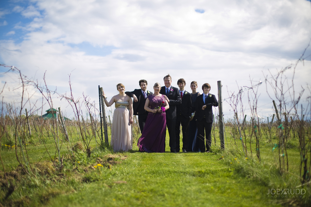 Elopement Session at Jabulani Vineyard by Joey Rudd Photography Ottawa Wedding Photographer Family Shot Winery
