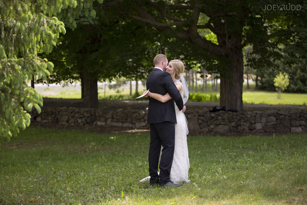 Kemptville Wedding by Ottawa Wedding Photographer Joey Rudd Photography First Look Bride and Groom