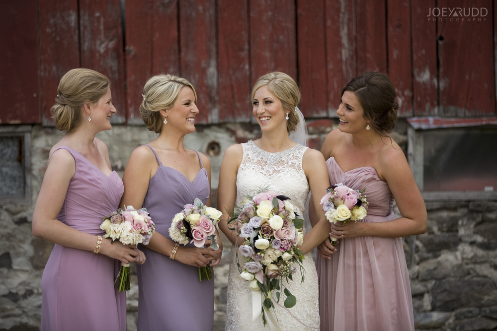 Kemptville Wedding by Ottawa Wedding Photographer Joey Rudd Photography Bridesmaids