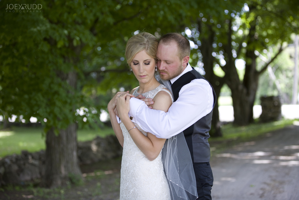 Kemptville Wedding by Ottawa Wedding Photographer Joey Rudd Photography Couple on the Road