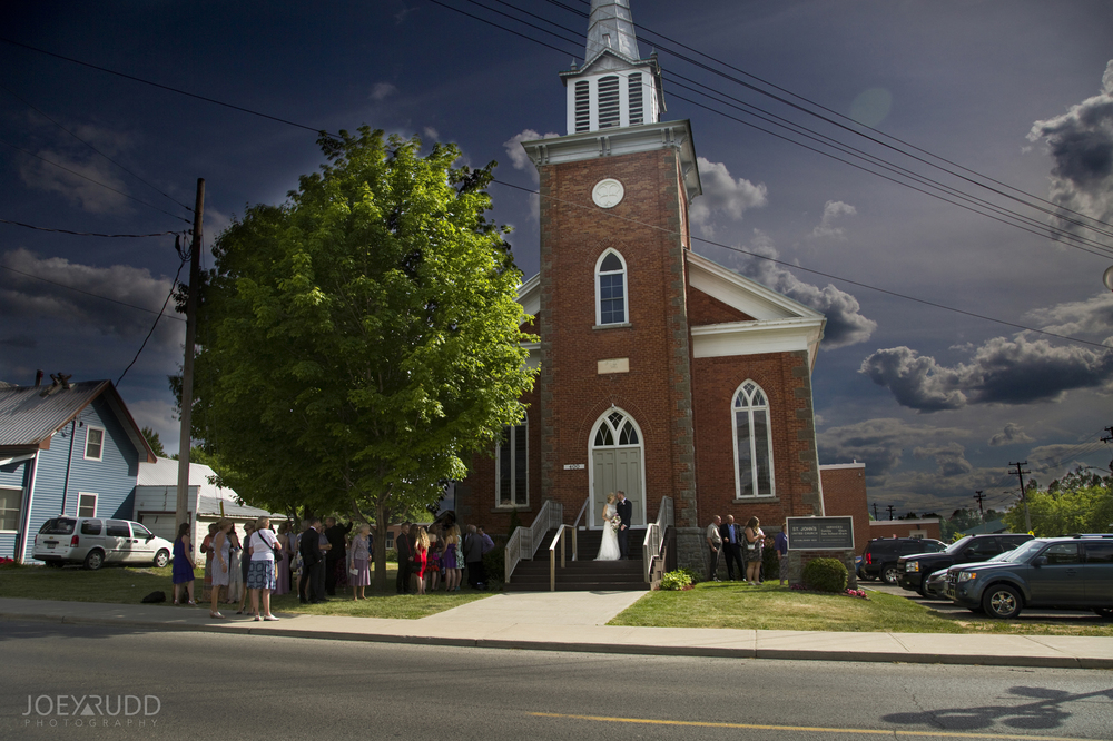 Kemptville Wedding by Ottawa Wedding Photographer Joey Rudd Photography Church
