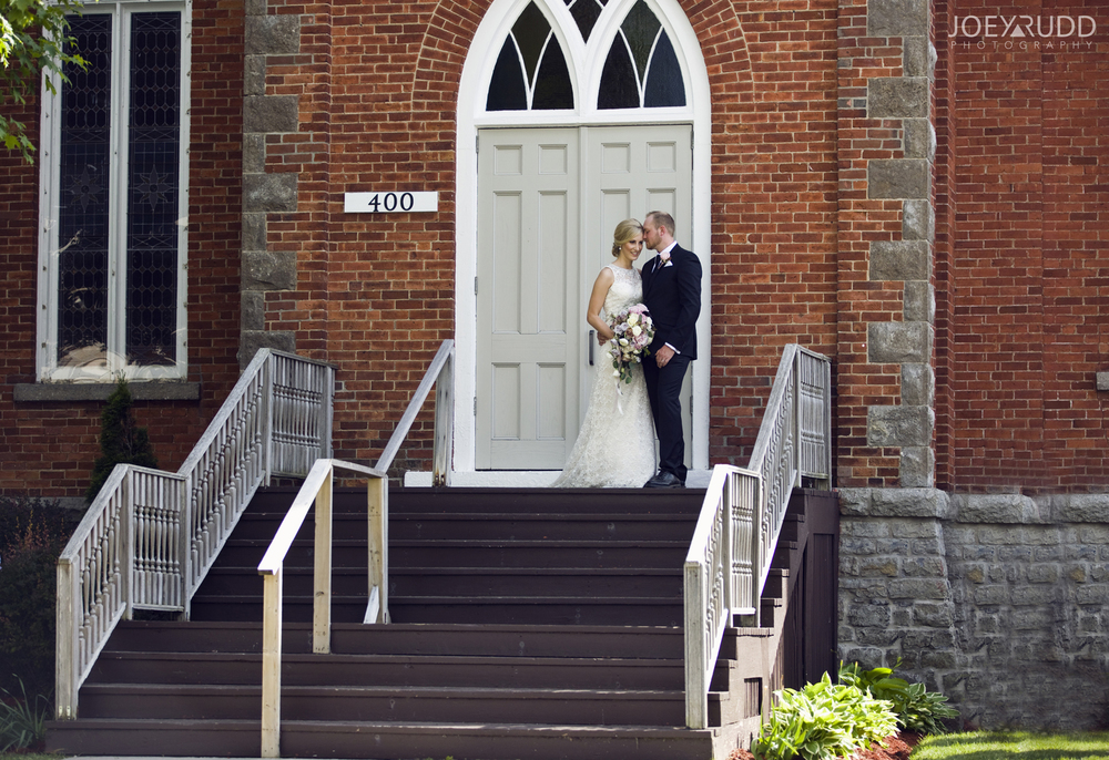 Kemptville Wedding by Ottawa Wedding Photographer Joey Rudd Photography Bride and Groom Church