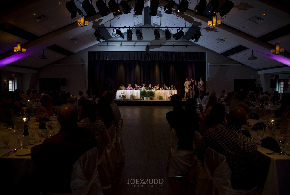 Kemptville Wedding by Ottawa Wedding Photographer Joey Rudd Photography Century Wedding and Events Head Table