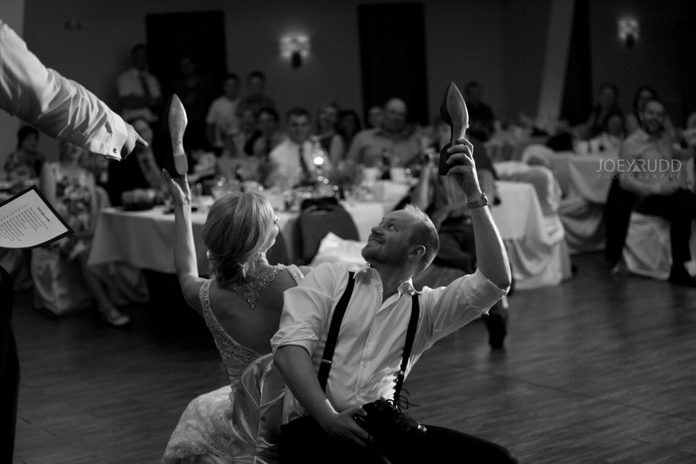 Kemptville Wedding by Ottawa Wedding Photographer Joey Rudd Photography Century Wedding and Events Shoe Game