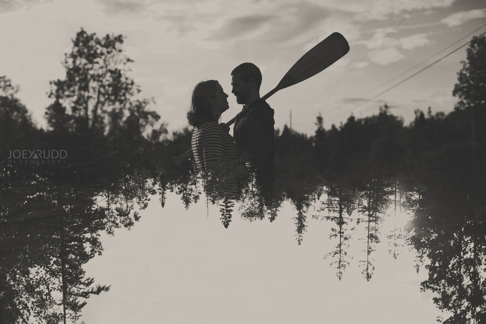 Rustic Engagement by Ottawa Wedding Photographer Joey Rudd Photography Double Exposure