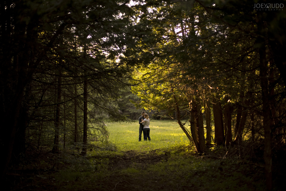 Rustic Engagement by Ottawa Wedding Photographer Joey Rudd Photography Nature Path