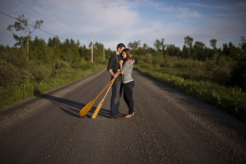 Rustic Engagement by Ottawa Wedding Photographer Joey Rudd Photography Road