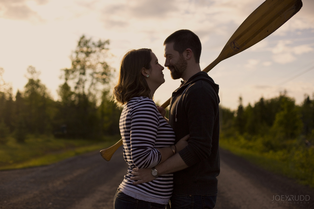 Rustic Engagement by Ottawa Wedding Photographer Joey Rudd Photography Sunset