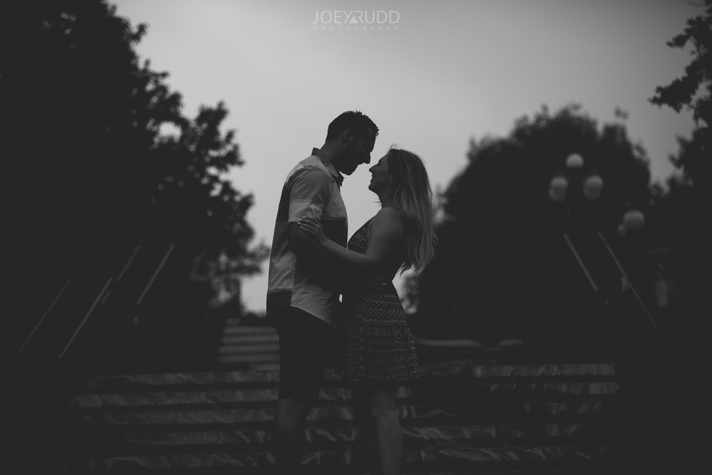 Joey Rudd Photography Ottawa Wedding Photographer Engagement Sihlouette