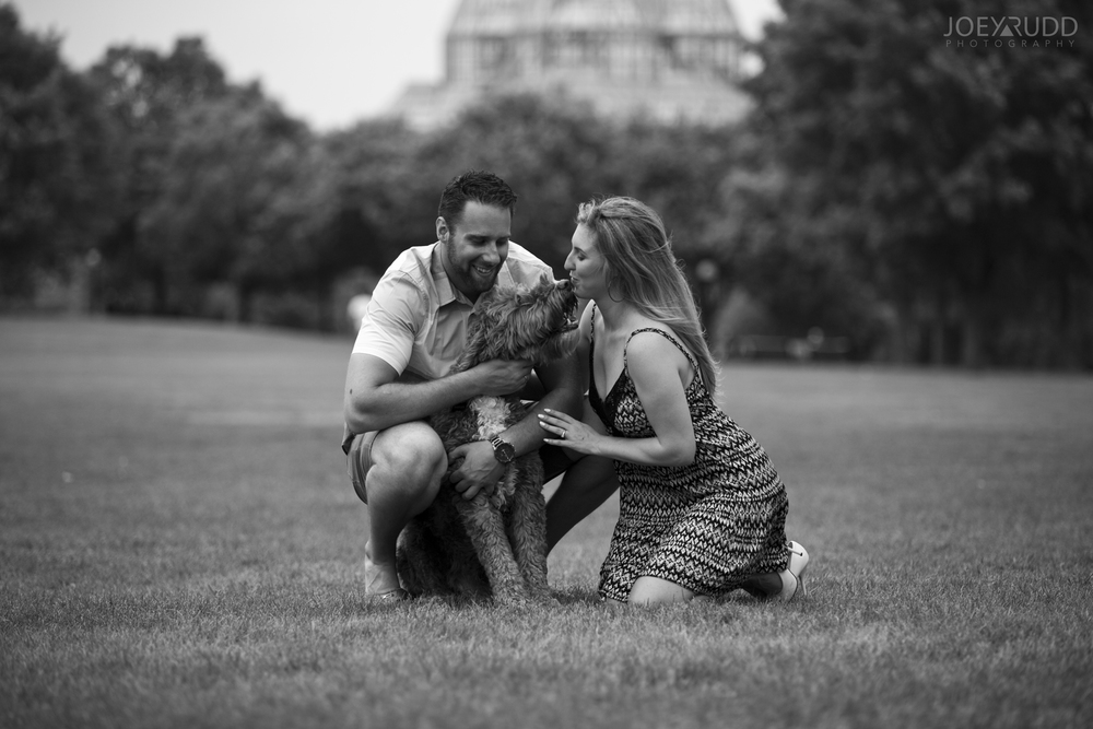 Joey Rudd Photography Ottawa Wedding Photographer Engagement Dog Photo