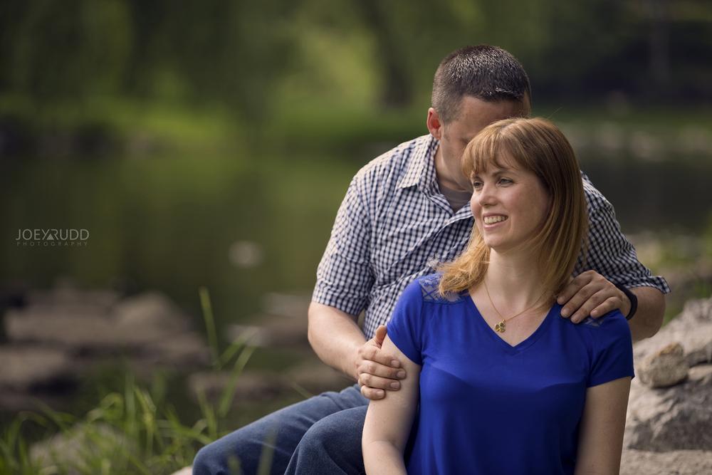Manotick Engagement by Ottawa Wedding Photographer Joey Rudd Photography at Watsons Mill Bridge