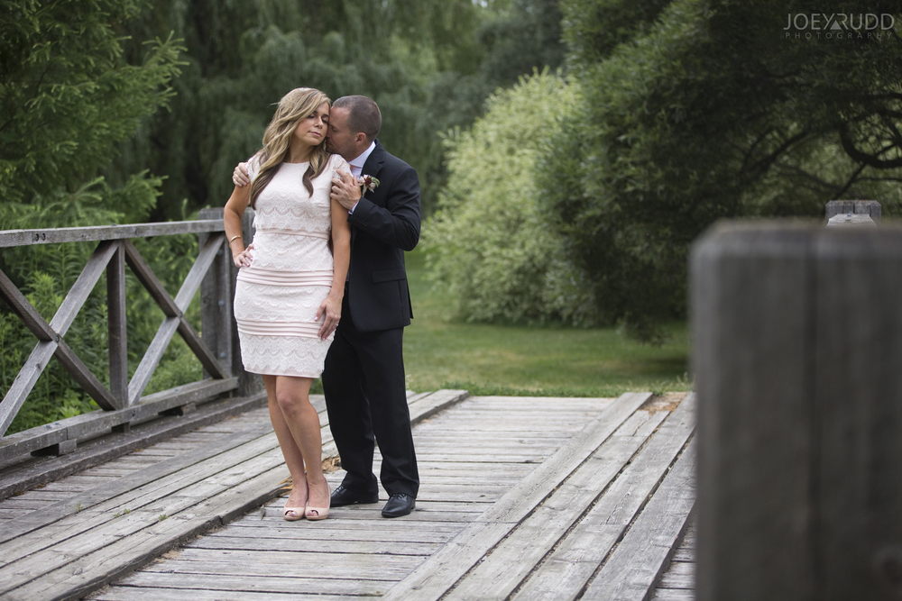 Elopement Wedding by Ottawa Wedding Photographer Joey Rudd Photography Arboretum Bridge