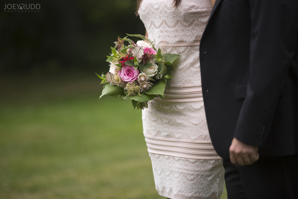 Elopement Wedding by Ottawa Wedding Photographer Joey Rudd Photography Arboretum Flowers Bouquet