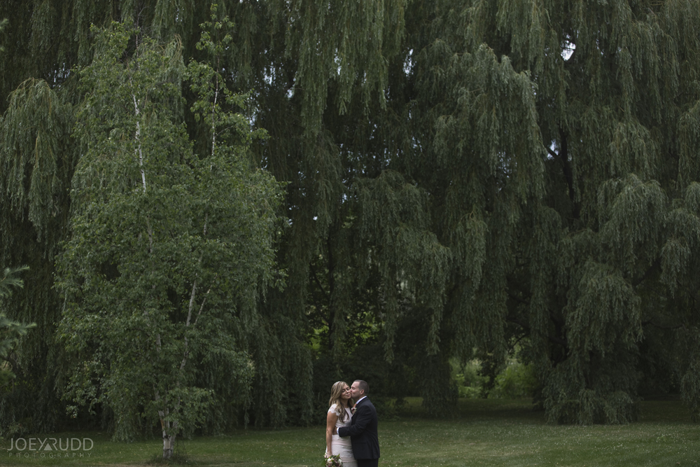 Elopement Wedding by Ottawa Wedding Photographer Joey Rudd Photography Arboretum Willows