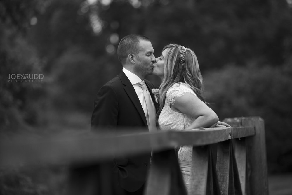 Elopement Wedding by Ottawa Wedding Photographer Joey Rudd Photography Arboretum Black and White