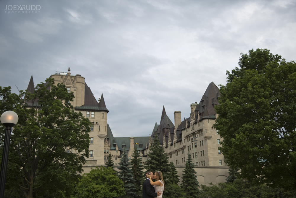 Elopement Wedding by Ottawa Wedding Photographer Joey Rudd Photography Majors Hill Chateau Laurier