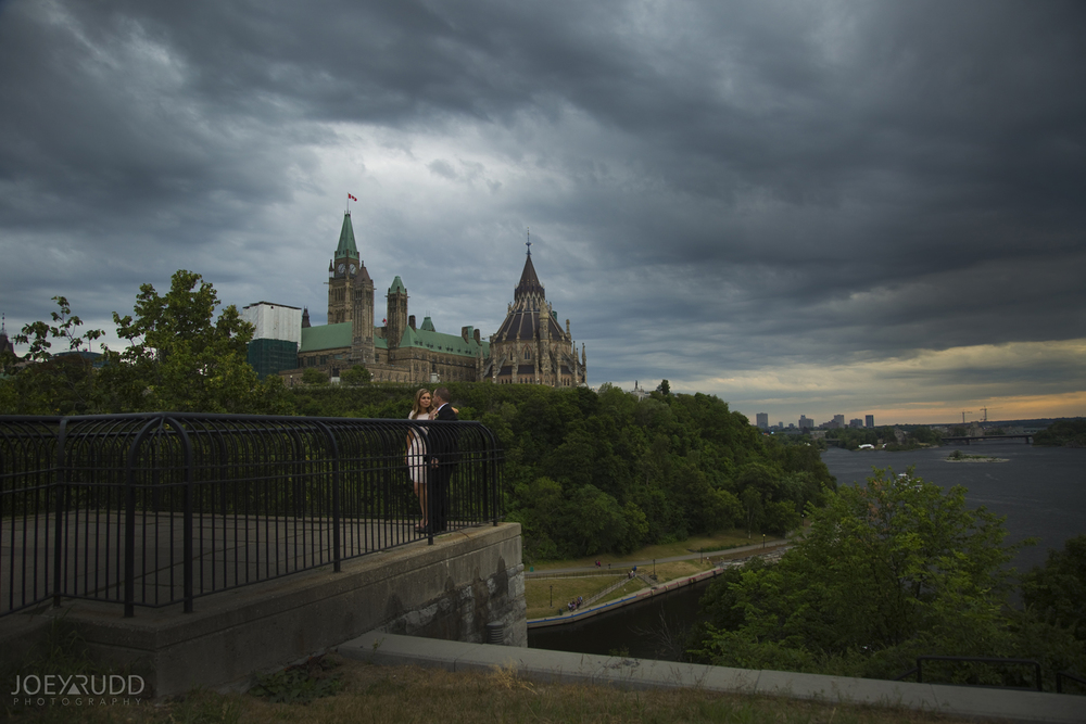Elopement Wedding by Ottawa Wedding Photographer Joey Rudd Photography Majors Hill Parliament Sunset