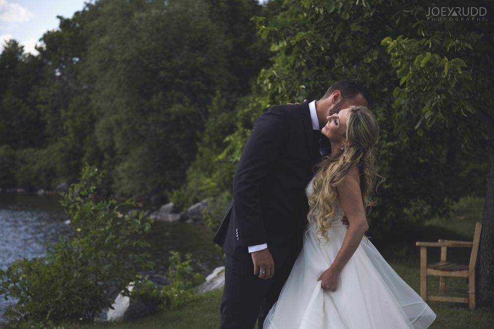 Calabogie Wedding at Barnet Park by Ottawa Wedding Photographer Joey Rudd Photography First Look Couple