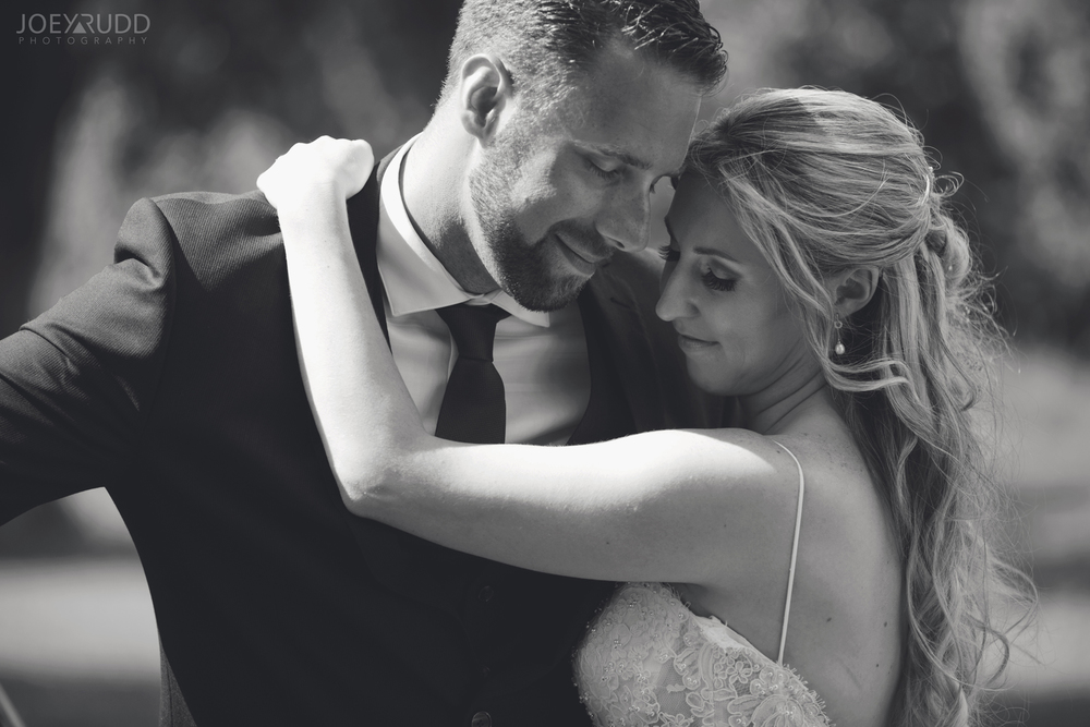 Calabogie Wedding at Barnet Park by Ottawa Wedding Photographer Joey Rudd Photography Black and White Couple
