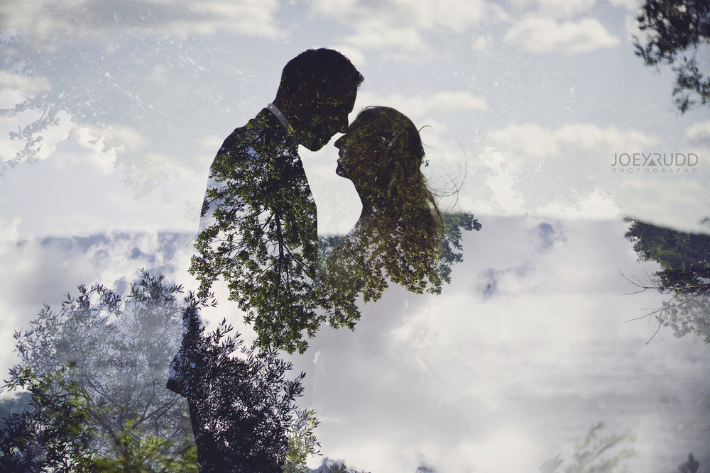 Calabogie Wedding at Barnet Park by Ottawa Wedding Photographer Joey Rudd Photography Double Exposure Multiple