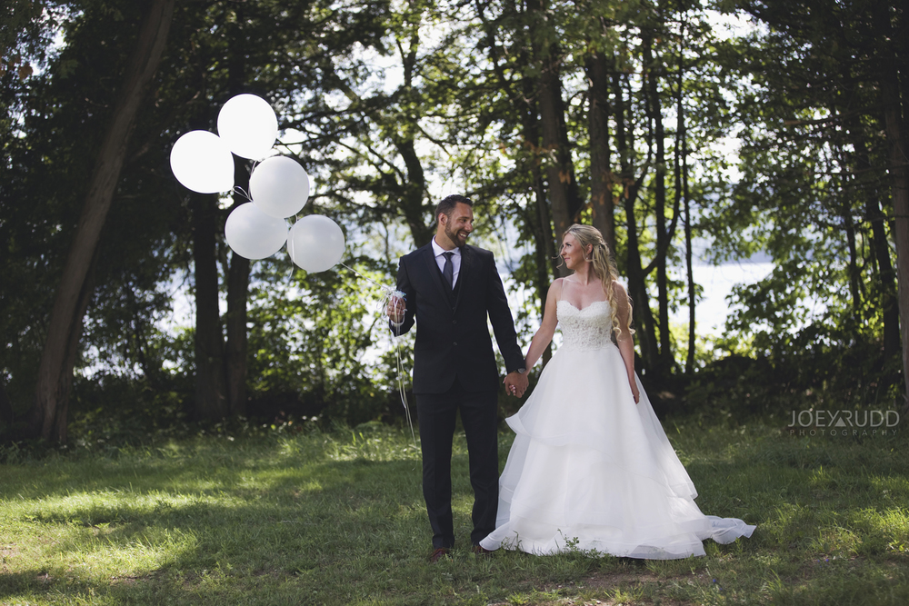 Calabogie Wedding at Barnet Park by Ottawa Wedding Photographer Joey Rudd Photography Balloons
