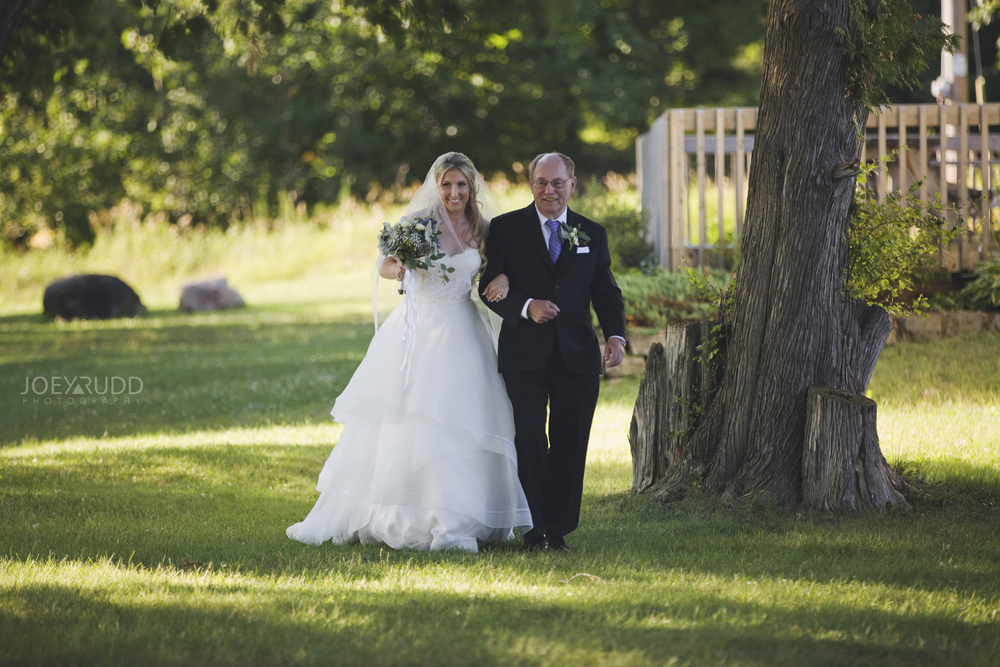 Calabogie Wedding at Barnet Park by Ottawa Wedding Photographer Joey Rudd Photography Ceremony Bridal