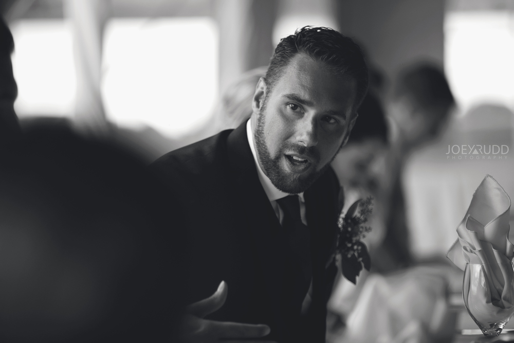 Calabogie Wedding at Barnet Park by Ottawa Wedding Photographer Joey Rudd Photography Candid Groom