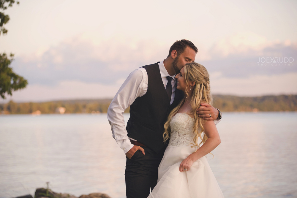 Calabogie Wedding at Barnet Park by Ottawa Wedding Photographer Joey Rudd Photography Sunset Lake