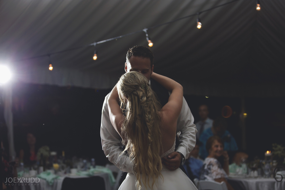 Calabogie Wedding at Barnet Park by Ottawa Wedding Photographer Joey Rudd Photography First Dance