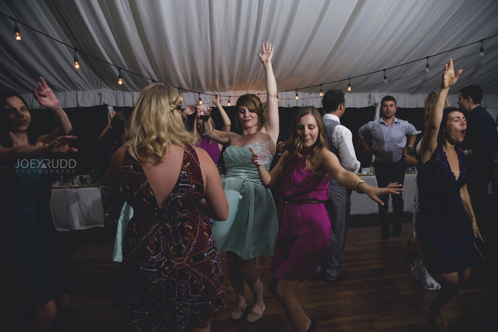 Calabogie Wedding at Barnet Park by Ottawa Wedding Photographer Joey Rudd Photography Dancing