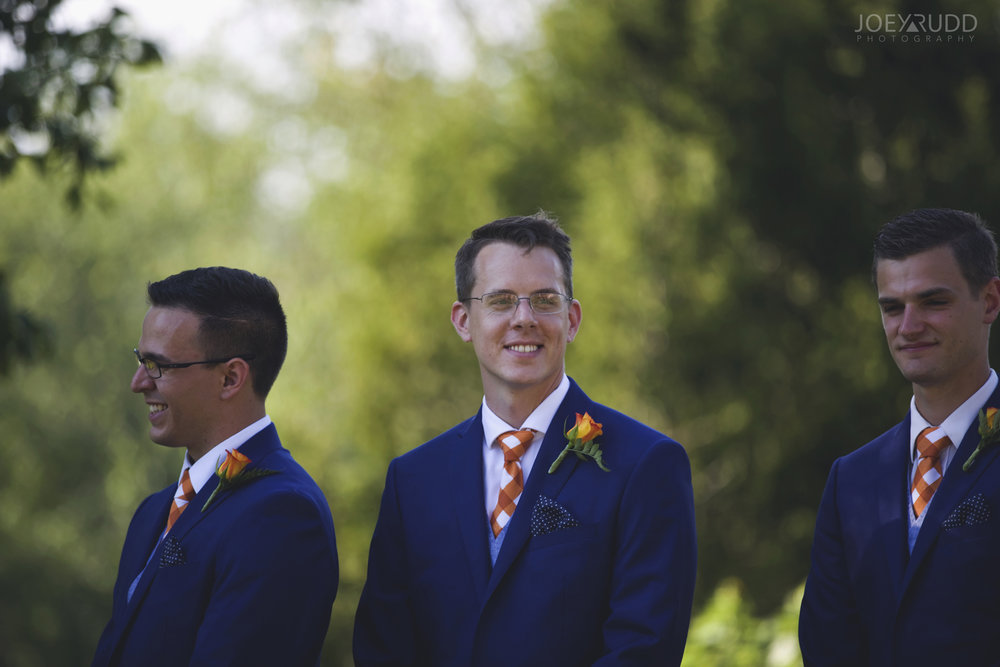 Backyard Kingston Wedding by Ottawa Wedding Photographer Joey Rudd Photography Suits Groomsmen Classic