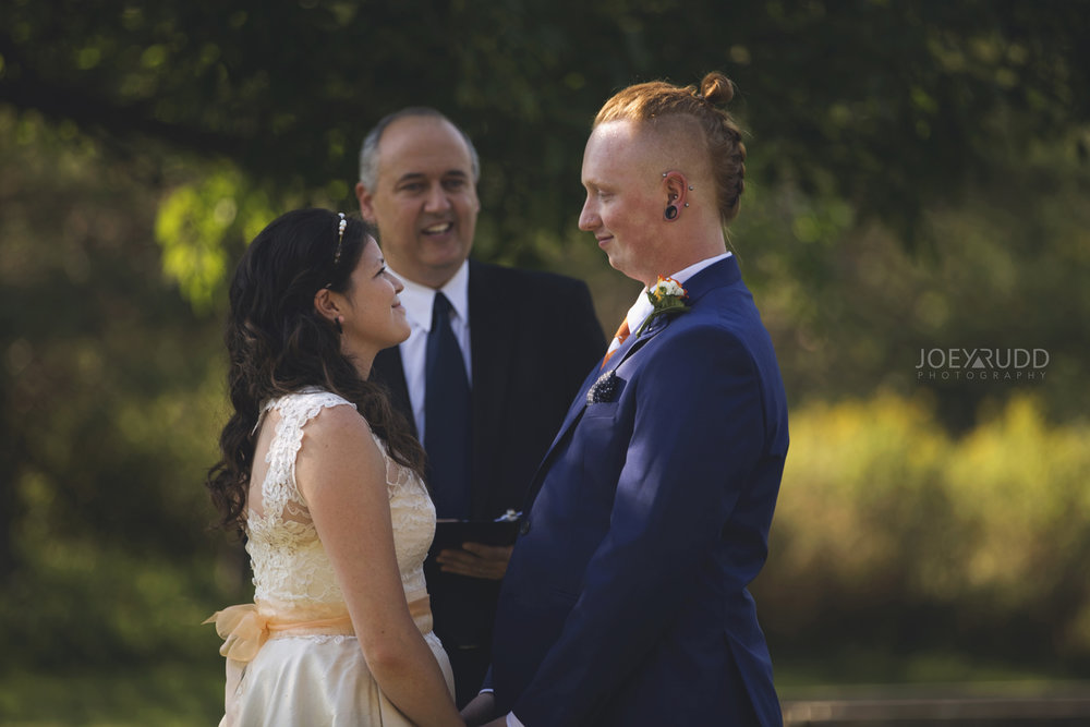 Backyard Kingston Wedding by Ottawa Wedding Photographer Joey Rudd Photography Outdoor Ceremony