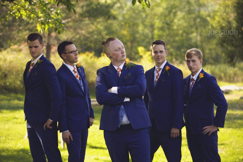 Backyard Kingston Wedding by Ottawa Wedding Photographer Joey Rudd Photography Groomsmen Photo Idea
