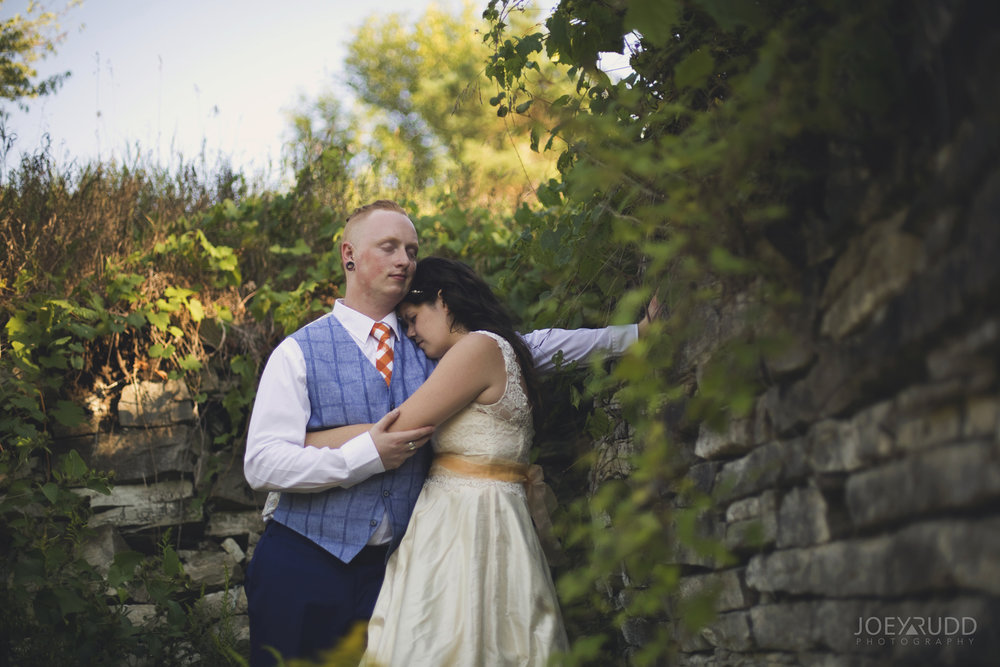 Backyard Kingston Wedding by Ottawa Wedding Photographer Joey Rudd Photography Ruins