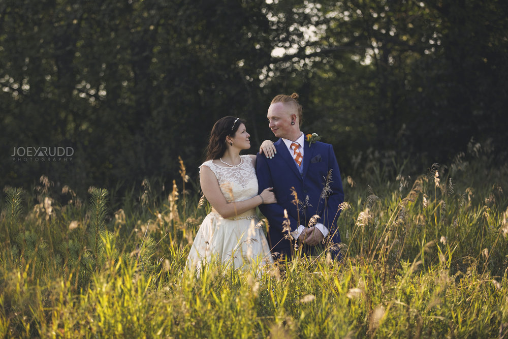 Backyard Kingston Wedding by Ottawa Wedding Photographer Joey Rudd Photography Field