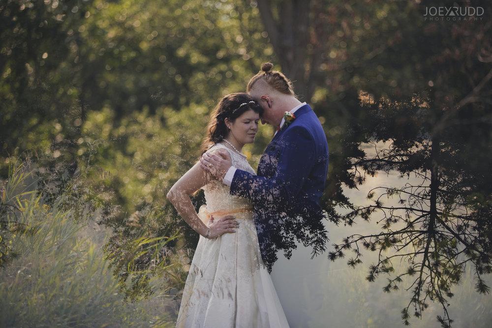 Backyard Kingston Wedding by Ottawa Wedding Photographer Joey Rudd Photography Double Exposure Photo