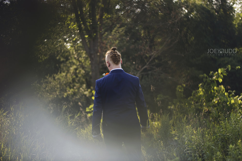 Backyard Kingston Wedding by Ottawa Wedding Photographer Joey Rudd Photography Cool Groom Hairstyle