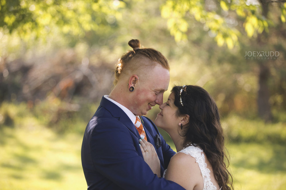 Backyard Kingston Wedding by Ottawa Wedding Photographer Joey Rudd Photography Bride and Groom Lovely