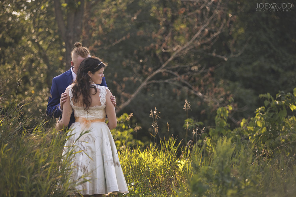 Backyard Kingston Wedding by Ottawa Wedding Photographer Joey Rudd Photography Posing